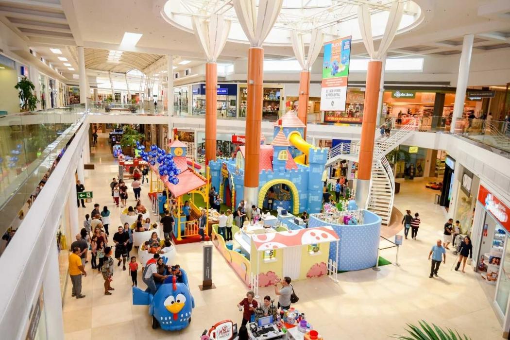 Shopping Vitória terá brinquedo para o Dia das Crianças. Crédito: Mile4/Divulgação
