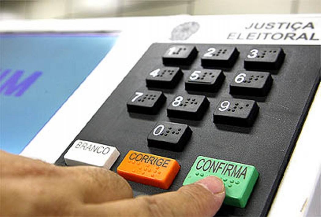 Urna: moradores de Castelo vão votar no dia 27 de outubro. Crédito: Divulgação
