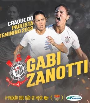 Gabi Zanotti, craque do Paulistão Feminino