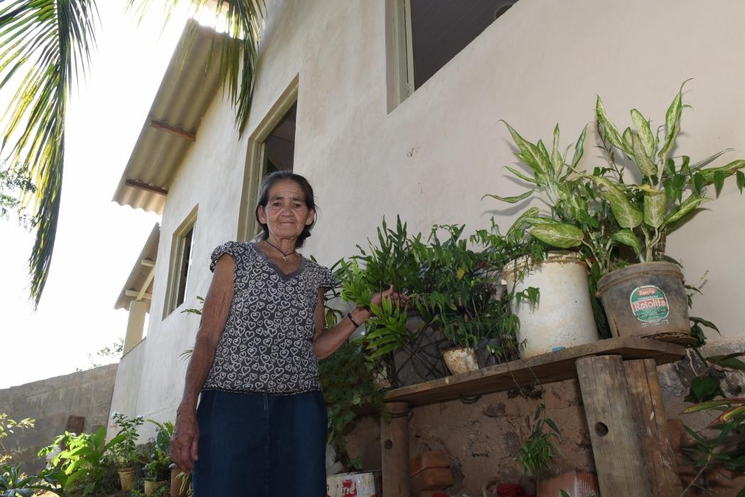 Senhor de 70 anos que vive de aluguel constrói casas para pessoas carentes. Crédito: Carlos Alberto Silva