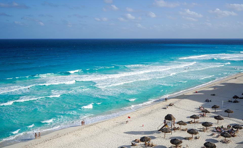 Cancún, no México. Crédito: Pixabay