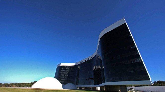 A fachada do Tribunal Superior Eleitoral . Crédito: Roberto Jayme/TSE/Divulgação