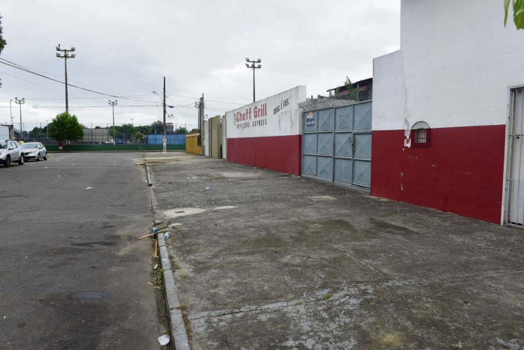 Local onde houve confusão e tiro na Serra. Crédito: Ricardo Medeiros