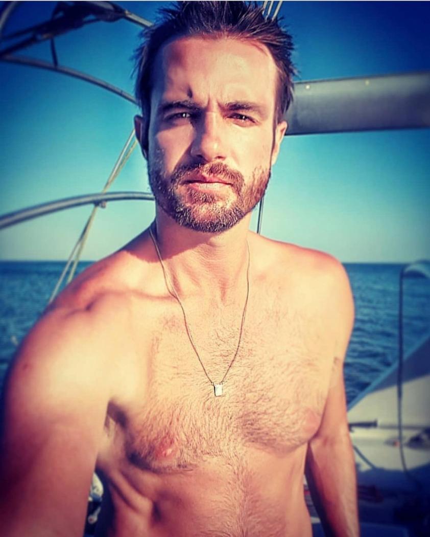 O ator e apresentador Max Fercondini. Crédito: Reprodução/Instagram
