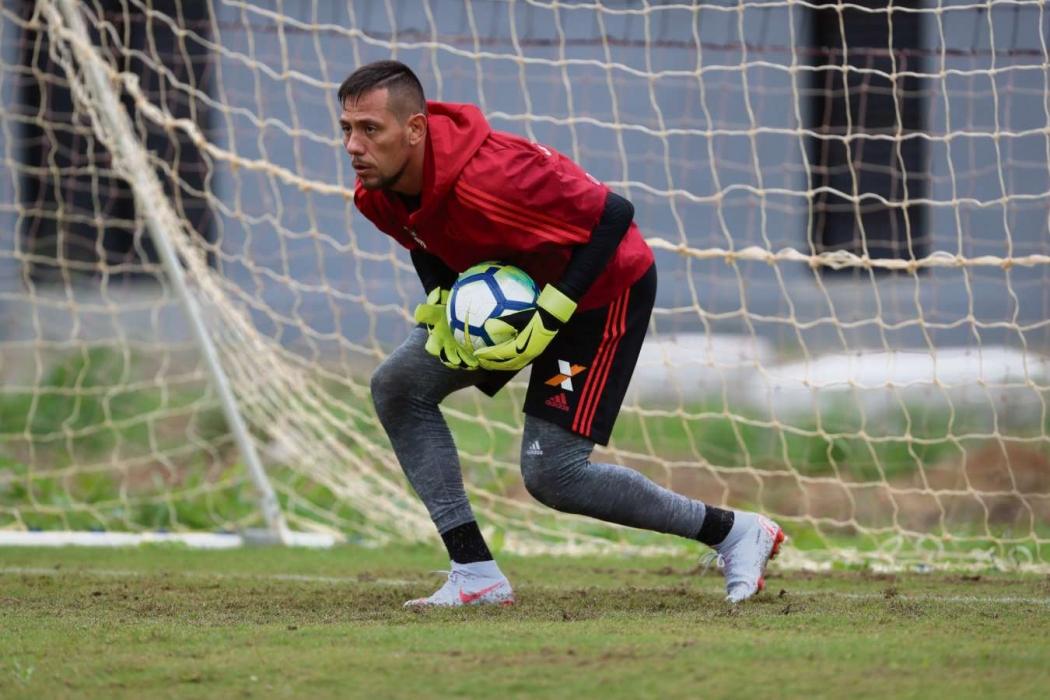 Diego Alves está em situação delicada no Flamengo. Crédito: Gilvan de Souza/Flamengo