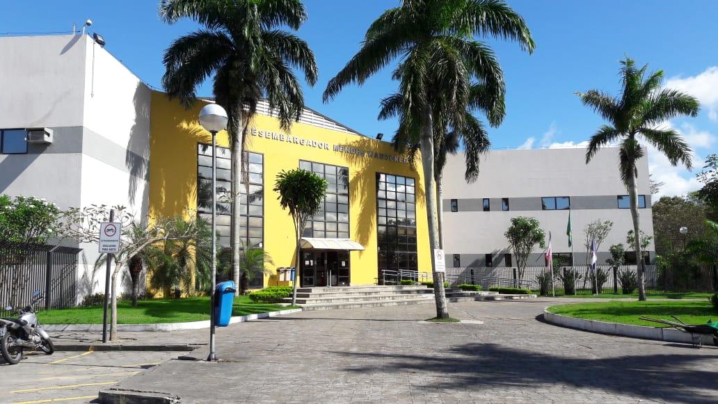 Fórum Desembargador Mendes Wanderley, no bairro Três Barras, em Linhares. Crédito: Brunela Alves