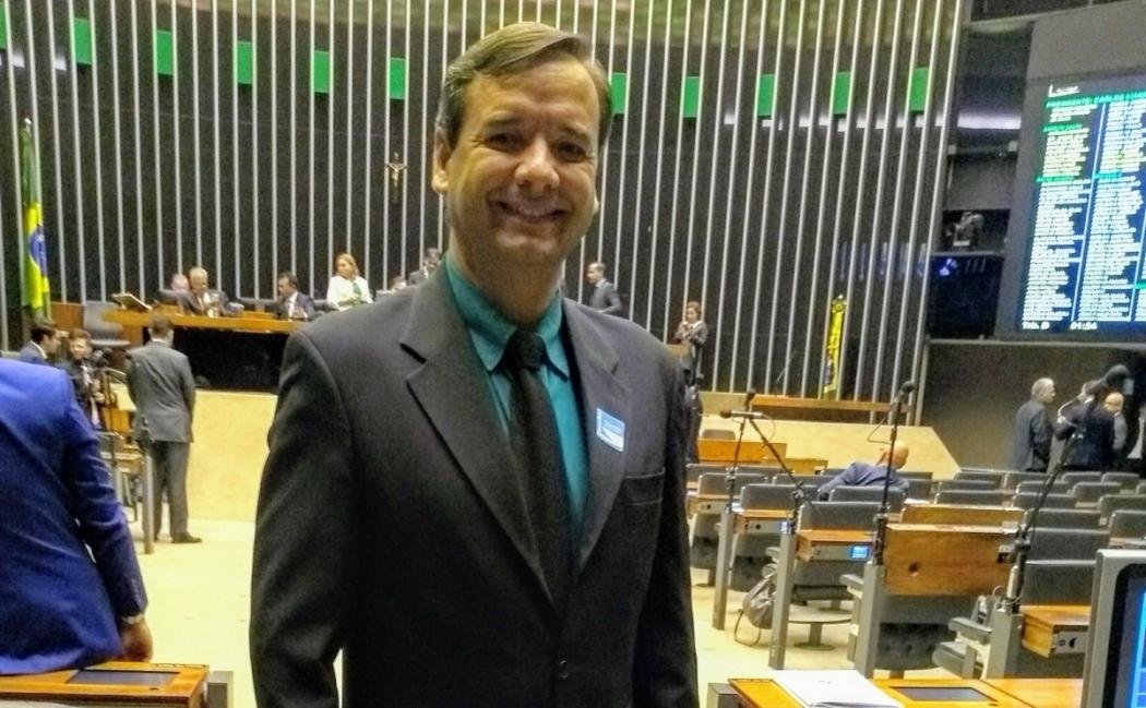 Foresti foi candidato a deputado federal, mas não conseguiu se eleger. Crédito: Divulgação