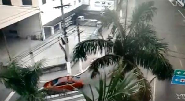 Motoristas cometendo infrações em Vila Velha. Crédito: Reprodução