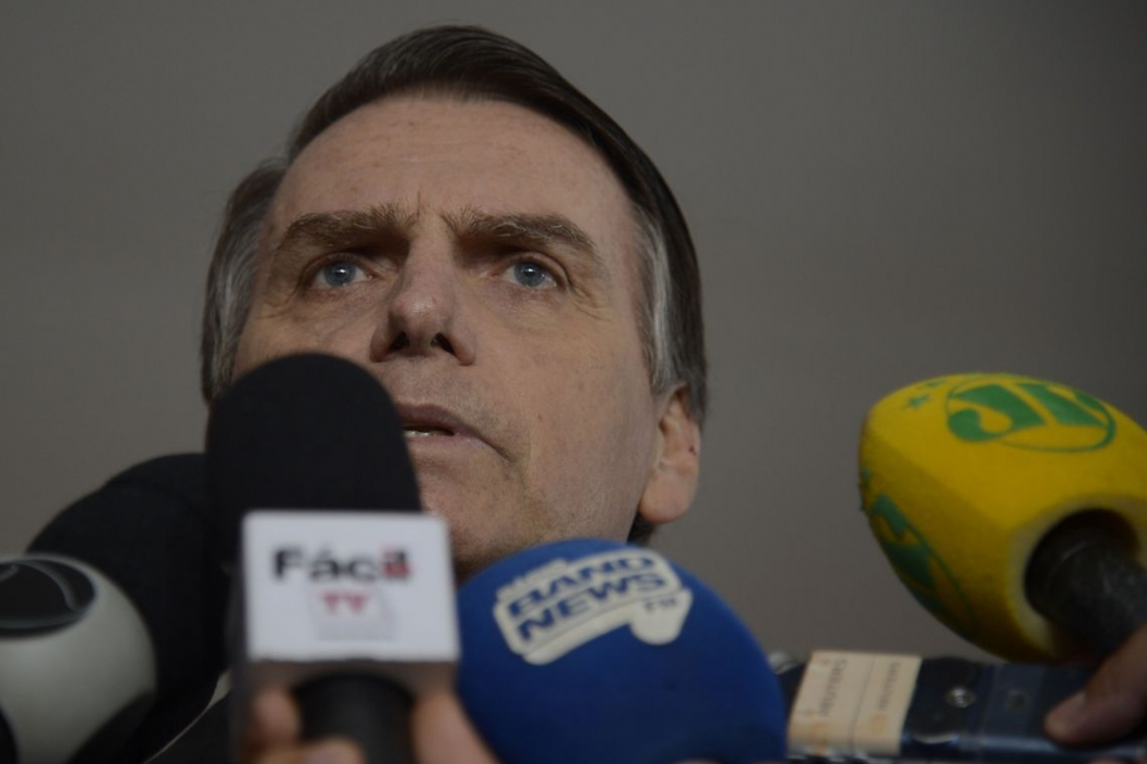 Jair Bolsonaro. Crédito:  Tânia Rego | Agência Brasil