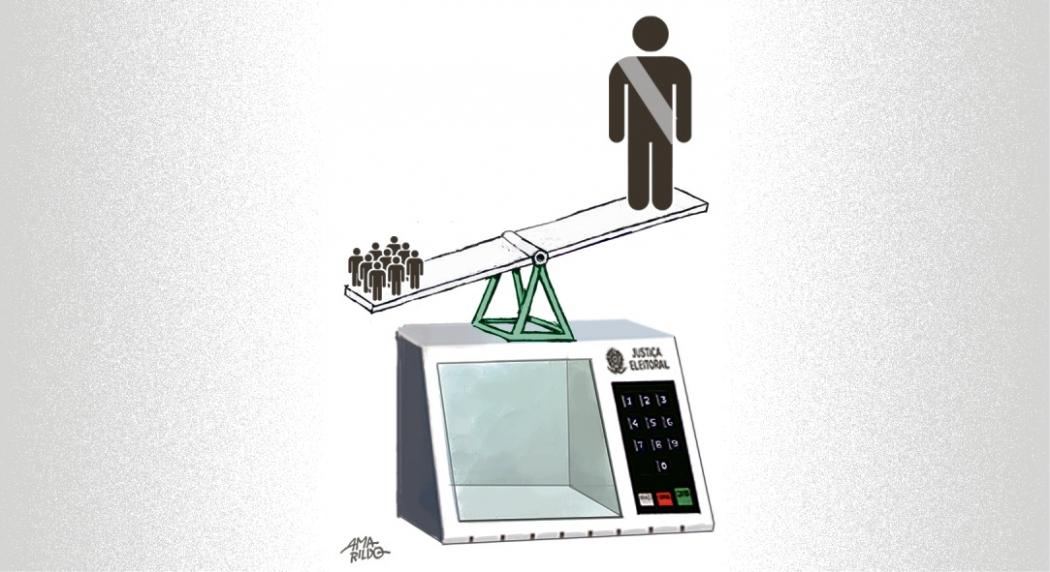 Com os tribunais eleitorais e o auxílio das urnas eletrônicas desde 1996, processo eleitoral brasileiro nunca foi tão sólido, transparente e seguro. Crédito: Amarildo