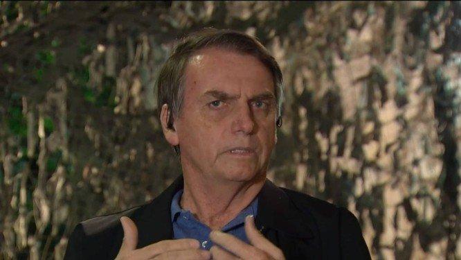 Futuro ministro da Defesa diz que inteligência descobriu plano de atentado contra Bolsonaro. Crédito: Reprodução/TV Globo