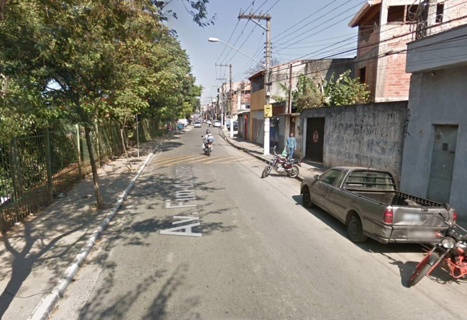 Rua Fim de Semana, no Jardim São Luís, zona sul de São Paulo. Crédito:  Reprodução/Google Street View