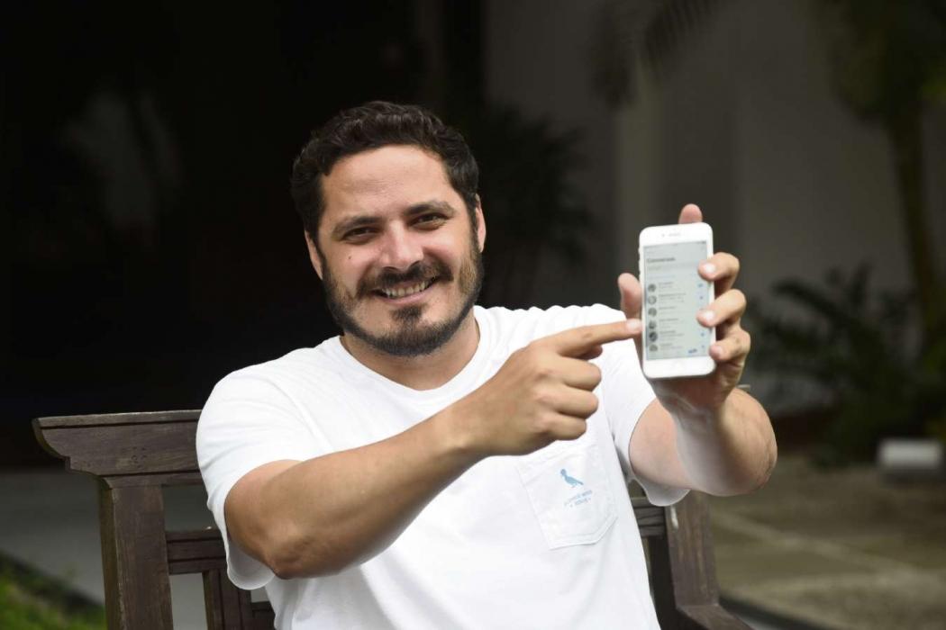 Humberto admite que errou a dose em alguns debates. Crédito: Vitor Jubini