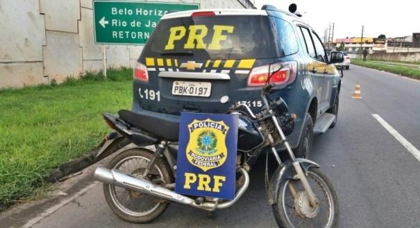 Durante a fiscalização, que tinha como foco o combate à criminalidade, a Polícia Rodoviária Federal (PRF) recuperou duas motocicletas na BR 101, em Cariacica, na noite desta quarta-feira (08)