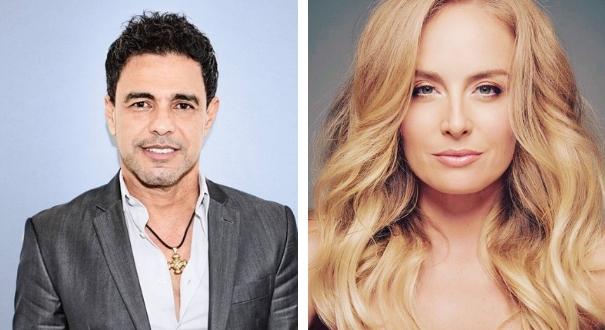 Zezé Di Camargo e Angélica: os dois rebatem rumores de suposto romance
