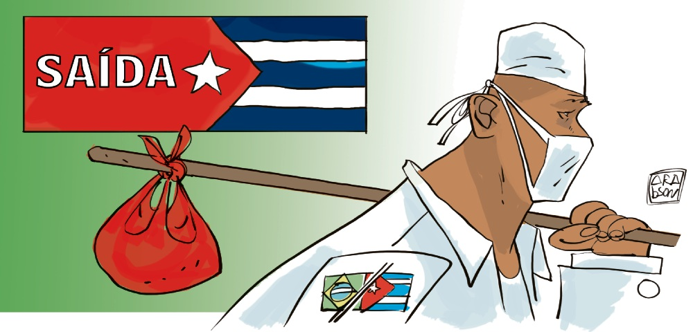 Cuba anuncia saída do programa Mais Médicos. Crédito: Arabson