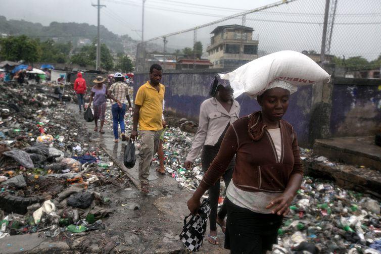 Porto Príncipe  . Crédito: Bahare Khodabande