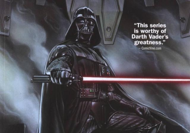 19/11/2018 - Quadrinho sobre Darth Vader lançado em novembro de 2015. Crédito: Tony Cenicola/The New York Times