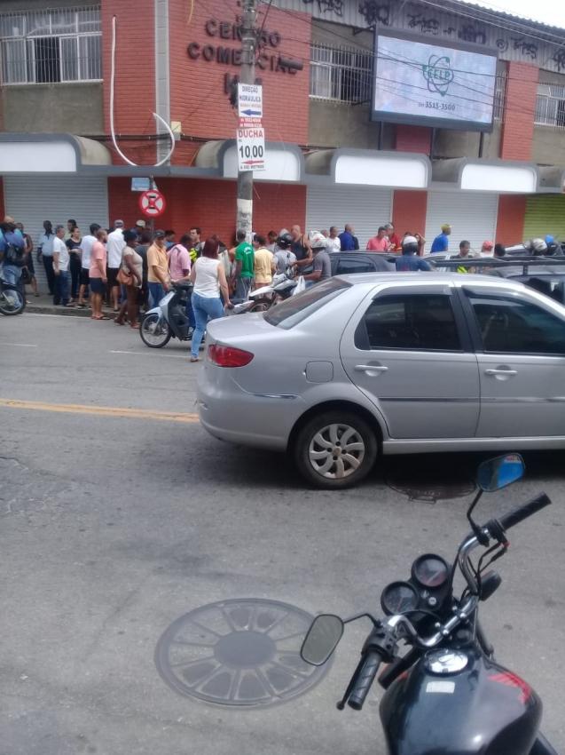 Empresário é baleado durante tentativa de assalto em Cachoeiro. Crédito: Internauta Gazeta Online
