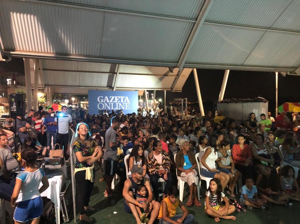 Evento promovido pelo Gazeta Online lota praça em São Pedro. Crédito: Internautas