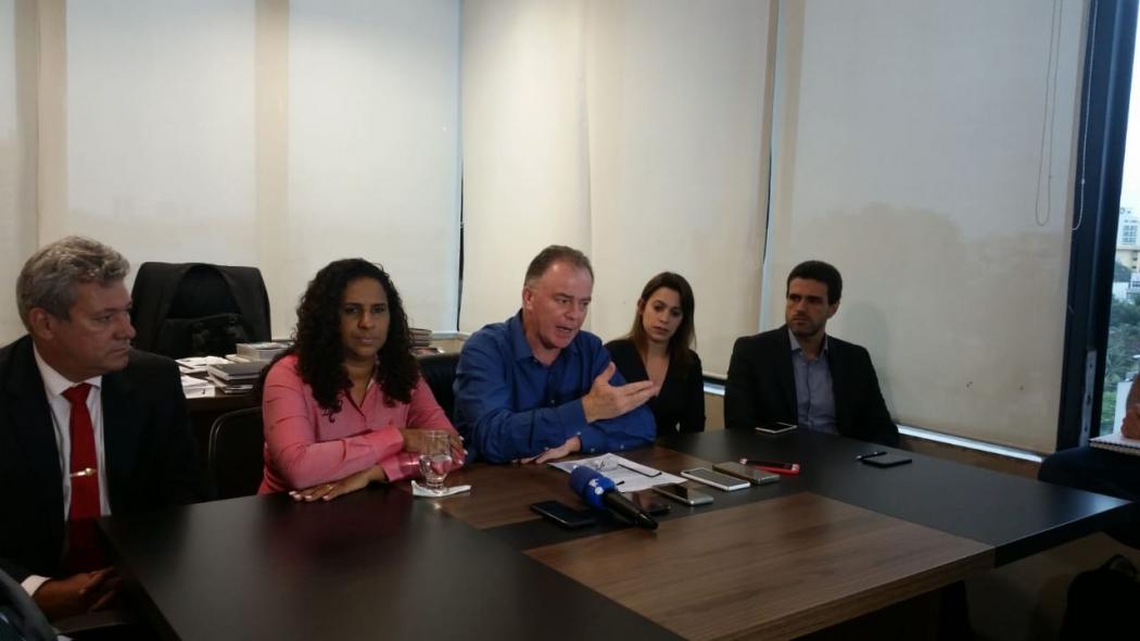 O governador eleito Renato Casagrande anunciou novos nomes da equipe. Crédito: Letícia Gonçalves