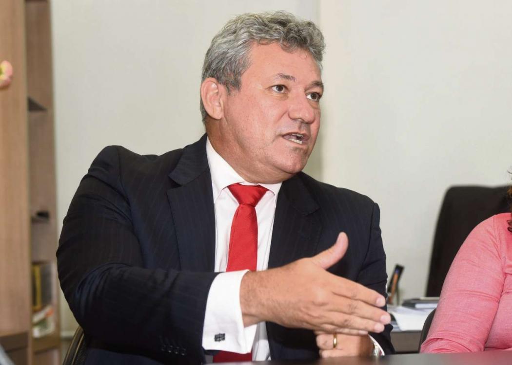 O secretário de Estado de Justiça. Crédito: Carlos Alberto Silva