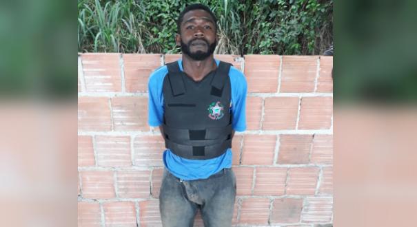 Gean Gaia de Oliveira, 31, vulgo Chocolate. Crédito: Divulgação | Polícia Civil