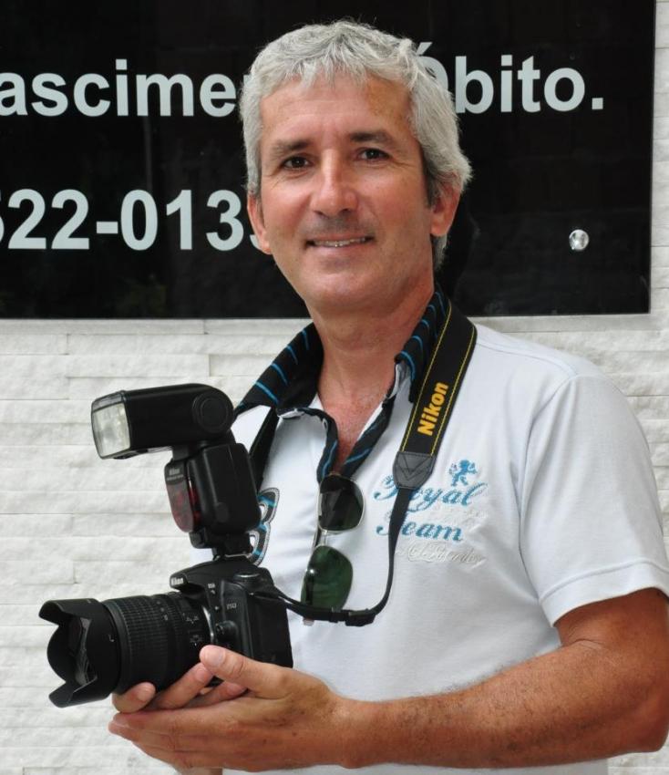 Paulo César Mota Gouveio, de 53 anos, é morador de Cachoeiro de Itapemirim. Crédito: Reprodução/ Redes Sociais