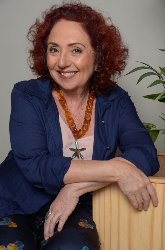 Escritora Alice Monteiro. Crédito: Hanna Campos/Divulgação