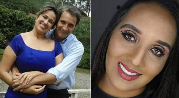 À esquerda, Joilma com o marido; à direita, Thereza. As duas morreram após o acidente. Crédito: Reprodução