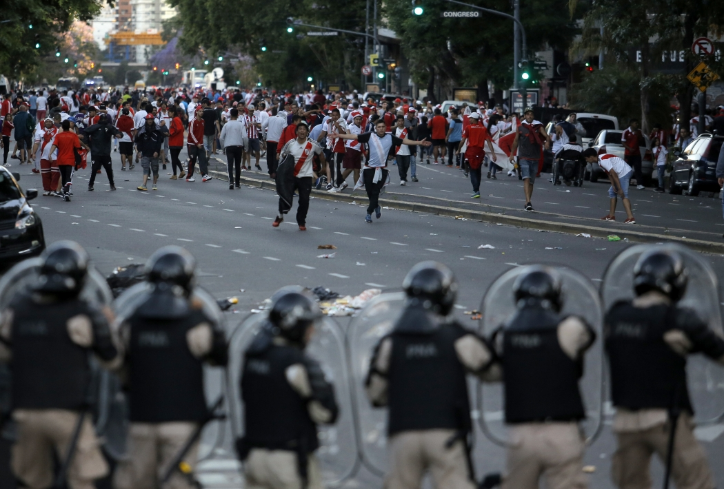 A final Libertadores deve acontecer no dia 8 de dezembro. Crédito: Sebastian Pani/AP