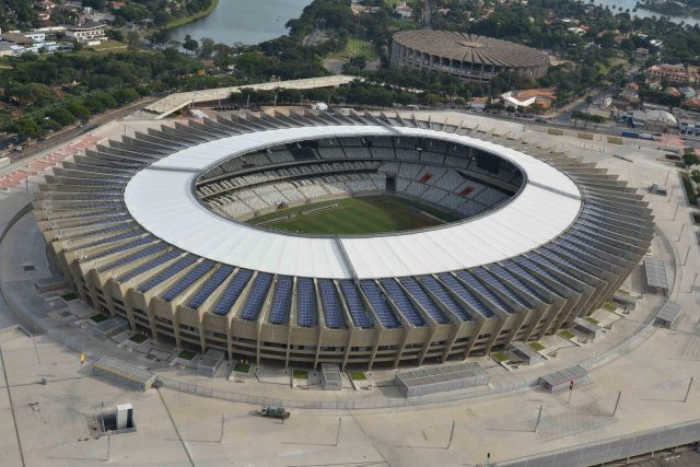 O estádio Mineirão, em Belo Horizonte (MG). Crédito: Divulgação
