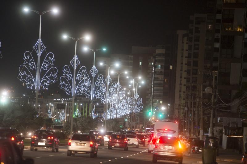 Iluminação de Natal em Vitória. Crédito: Yuri Barichivich/PMV
