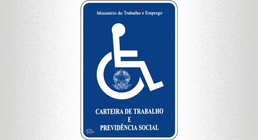 Inclusão de pessoas com deficiência no mercado de trabalho. Crédito: Amarildo