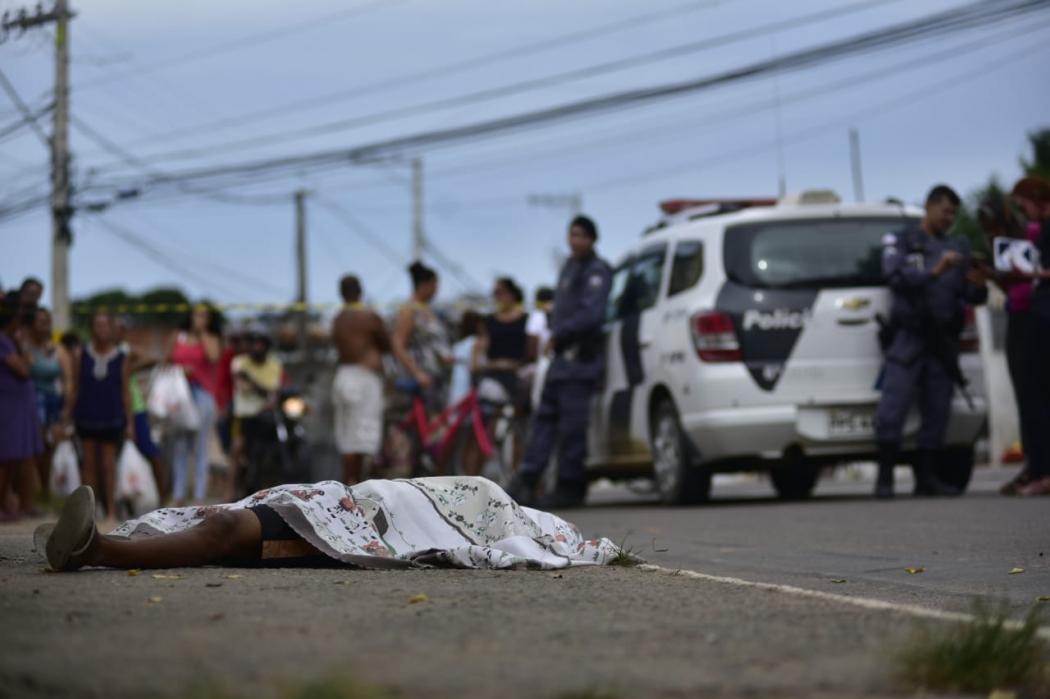 Segundo homicídio em Planalto Serrano, na Serra, em menos de 24 horas. Crédito: Marcelo Prest | GZ