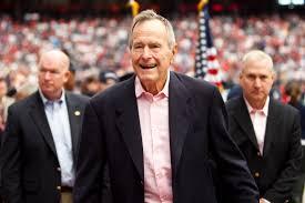 O ex-presidente americano George H. W. Bush morreu nesta sexta-feira (30), nos Estados Unidos. Crédito: Wikimedia