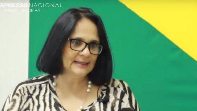 Damares Alves é pastora, advogada e assessora do senador Magno Malta  . Crédito: Reprodução/Youtube