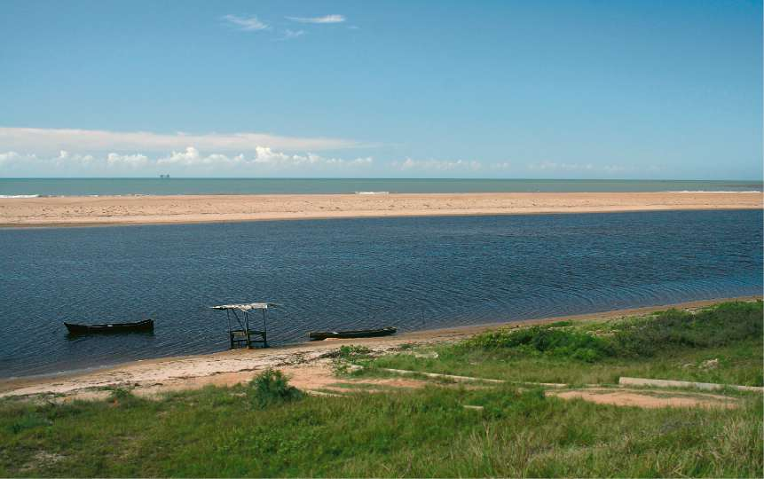 Praia de Barra Seca. Crédito: Arquivo AG/Divulgação