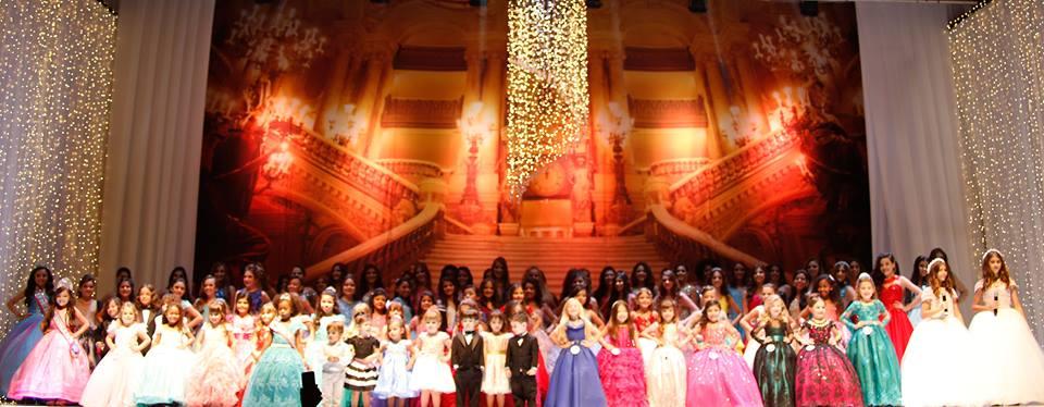 Dia de cerimônia do Miss Espírito Santo Mini, Mirim, Juvenil e Teen