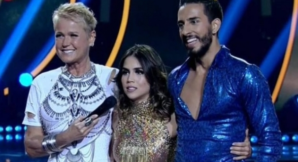 06/12/2018 - Xuxa Meneghel, Pérola Faria e Fernando Perrotti no Daning Brasil