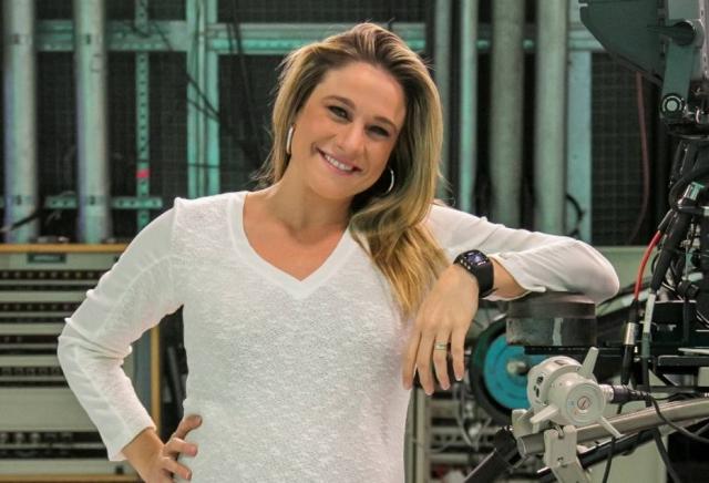 Fernanda Gentil, apresentadora de TV. Crédito: Paulo Belote/Globo/Divulgação