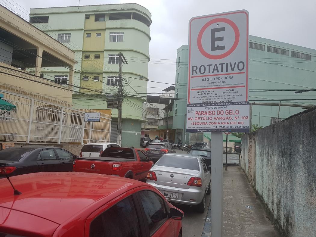 Rotativo de Campo Grande é alvo de reclamações de motoristas. Crédito: Caíque Verli