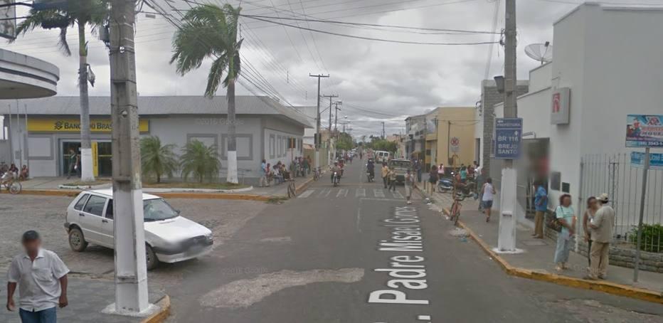 Tentativa de assalto ocorreu em rua onde duas agências bancárias estão a poucos metros