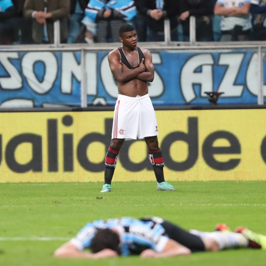 Lincoln, atacante capixaba do Flamengo. Crédito: Gilvan de Souza/Flamengo
