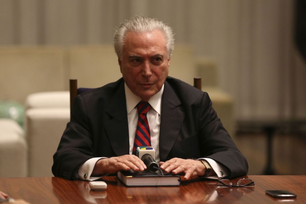 Michel Temer . Crédito: Fabio Rodrigues Pozzebom/Agência Brasil