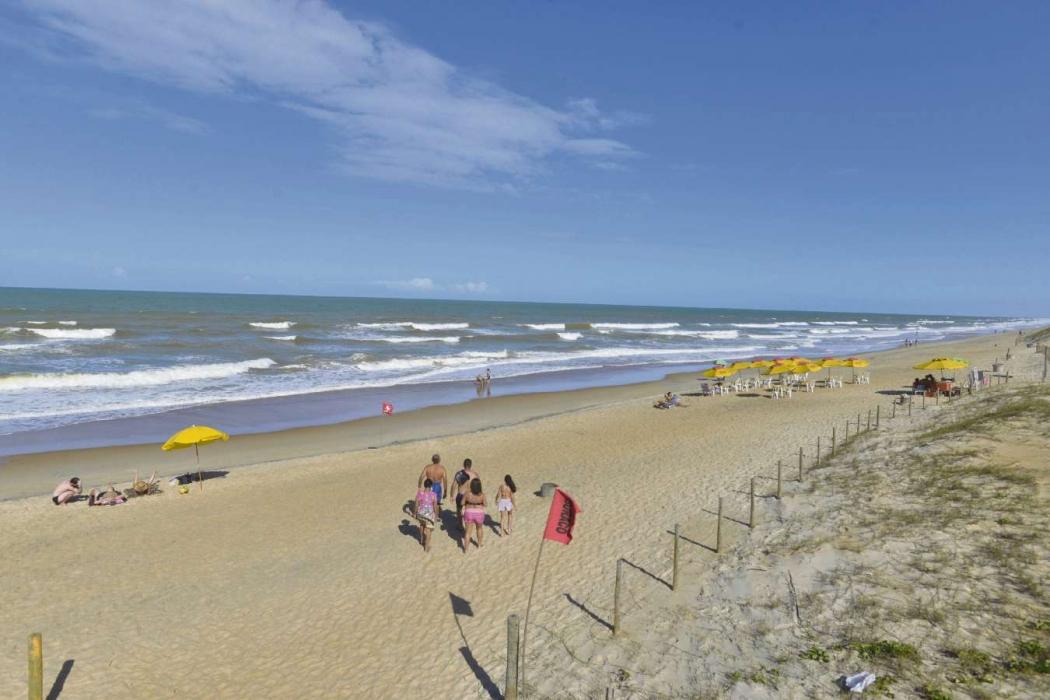 Praia de Guriri, em São Mateus. Crédito:                Bernardo Coutinho