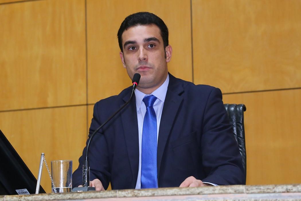 O presidente da Assembleia, Erick Musso, será reeleito. Crédito: Ales/Divulgação