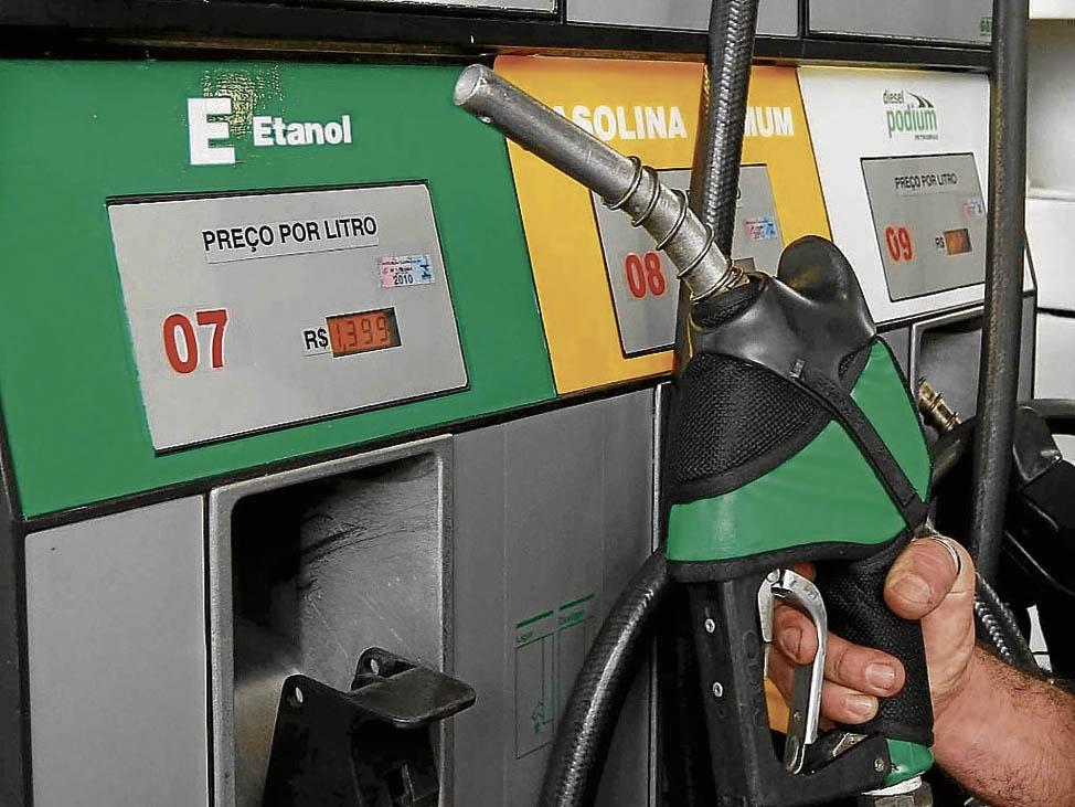 Com queda no preço dos combustíveis, prévia indica inflação de 0,09%. Crédito: arquivo