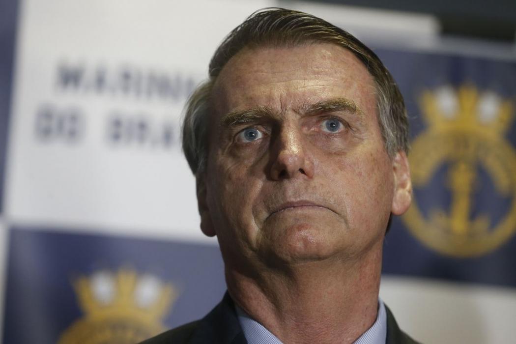 Jair Bolsonaro. Crédito: Tânia Rêgo/Agência Brasil