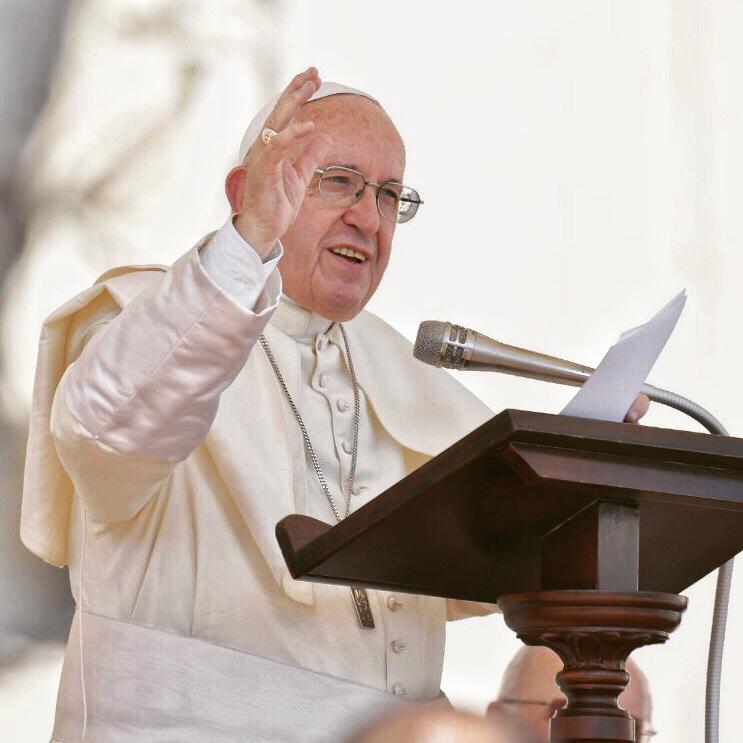 Papa Francisco . Crédito: Reprodução/Instagram